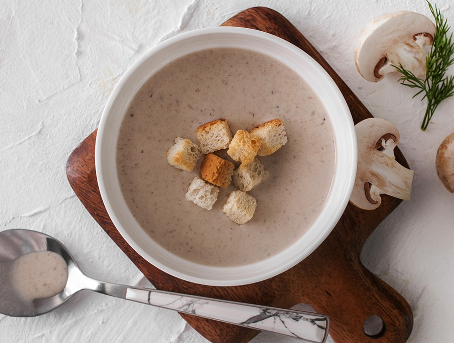 Грибной крем-суп V.2.0