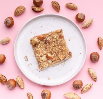 Печенье карамель и орех