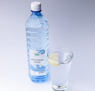 Вода питьевая негазированная 1 л