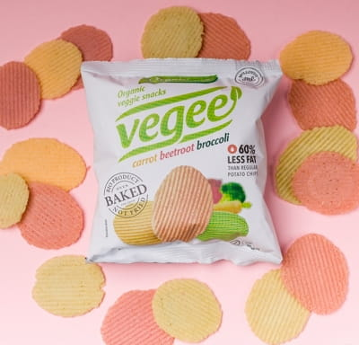 Картофельные снеки Vegee органические