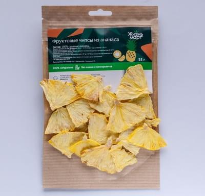 Фруктовые чипсы из ананаса