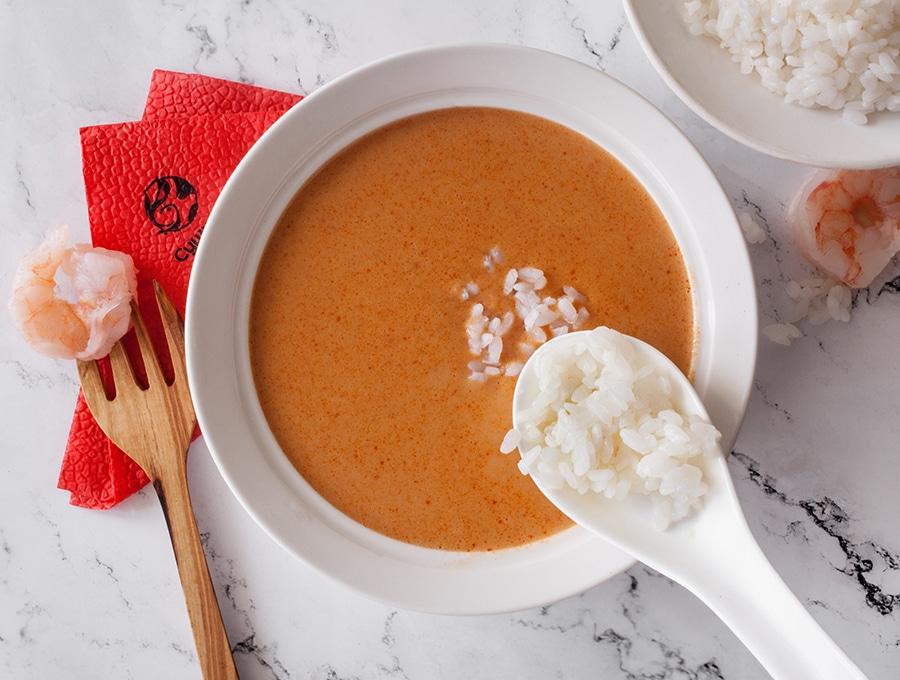 Тайский острый крем-суп