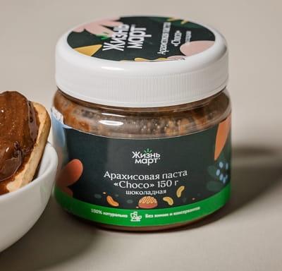 Арахисовая паста Choco