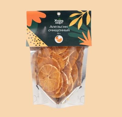 Фруктовые чипсы-апельсин очищенный (сушеные, переработанные)