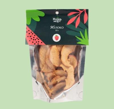 Фруктовые чипсы-яблоко (сушеные переработанные)