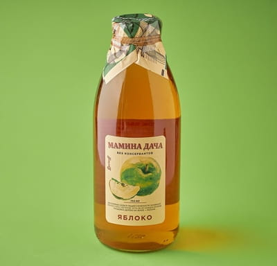Сок яблочный восстановленный осветленный