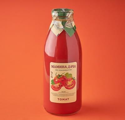 Сок томатный восстановленный с мякотью и солью 0,75 л