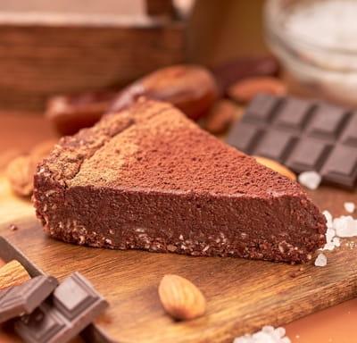 Ореховый RAW десерт Шоколадный Тарт