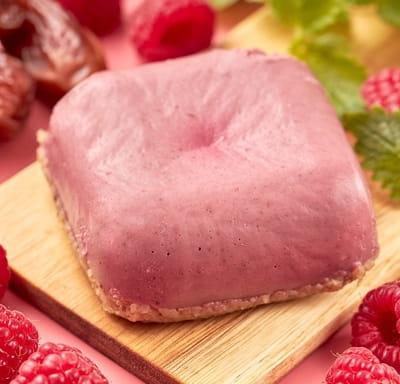 Ореховый RAW десерт Малина - мята